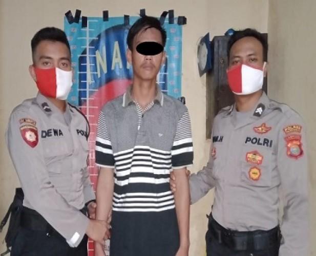 Pembunuh Petani di Kampung Karyajitu Mukti Diringkus di Rumahnya