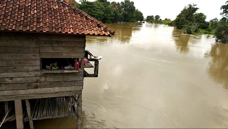 Pemda Tubaba Imbau Warga Waspada Banjir