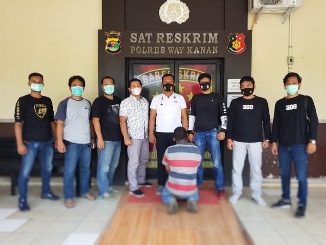 Pemeras Sopir Truk di Jalinsum Blambangan Umpu Ditangkap