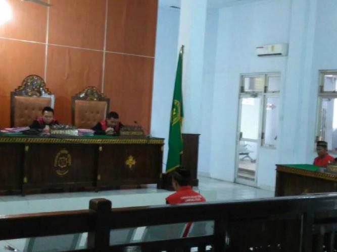 Pemeras Sopir TrukDihukum 2 tahun 4 bulan penjara