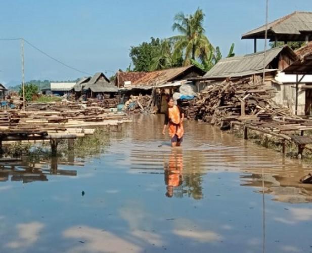 Pemerintah Belum Mampu Atasi Banjir di Katibung