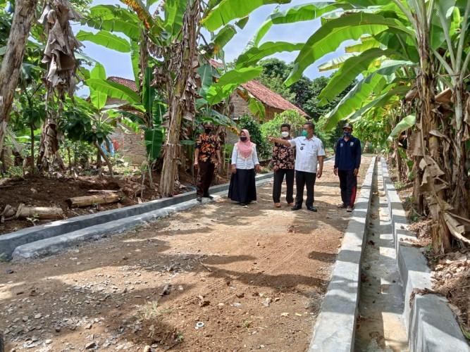 Pemerintah Desa Durian di Pesawaran Prioritaskan Pembangunan Drainase Antisipasi Banjir