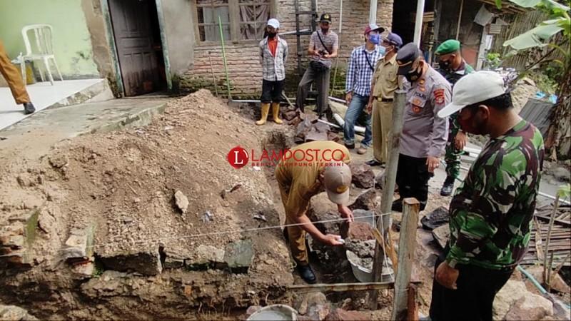 Pemerintah Desa Mandalasari Rehab Gedung Poskesdes