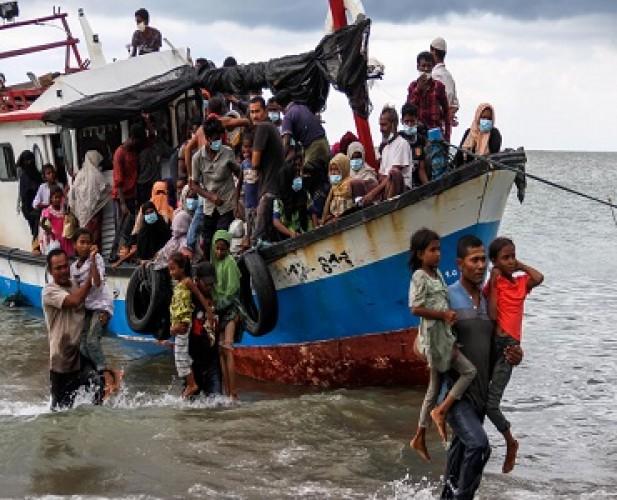 Pemerintah Diharap Beri Solusi Terkait 99 Pengungsi Rohingya di Aceh