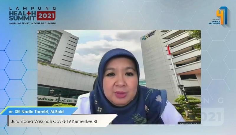 Pemerintah Pusat Janji Percepat Vaksinasi di Lampung