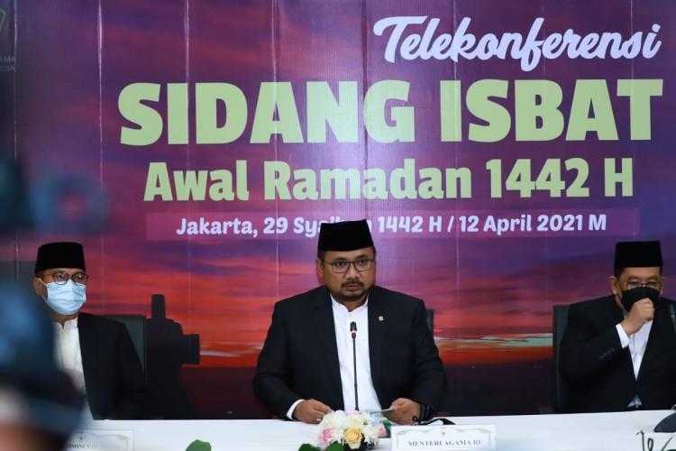 Pemerintah Tetapkan Awal Ramadan 1442 H Jatuh pada 13 April 2021