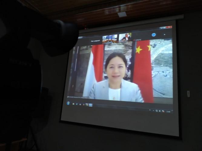 Pemerintah Tiongkok Bantu Lampung Tekan Penyebaran Covid-19