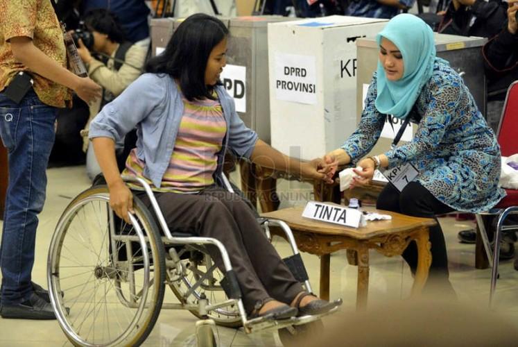 Pemilih Disabilitas Minta Kemudahan di TPS