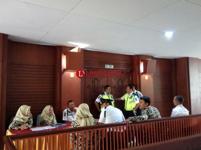 Pemilihan Rektor Unila Berlangsung Tertutup