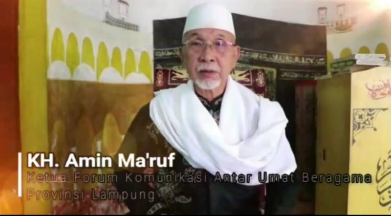 Pemilu 2019, Ketua FKUB Lampung Himbau Masyarakat Tidak Terprovokasi