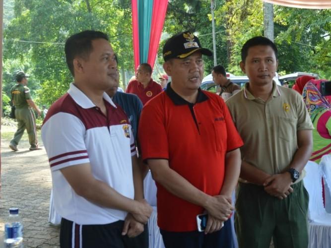 Pemkab Gelar Senam Bersama Jelang HUT Kabupaten Tanggamus