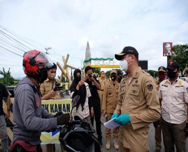 Pemkab Gowa Dorong Wajib Pakai Masker Diatur Perda