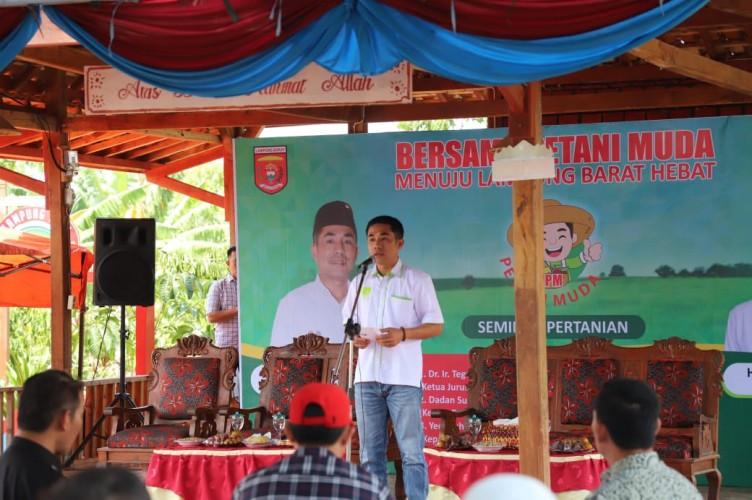 Pemkab Lambar Motivasi Pemuda untuk Jadi Petani Milenial