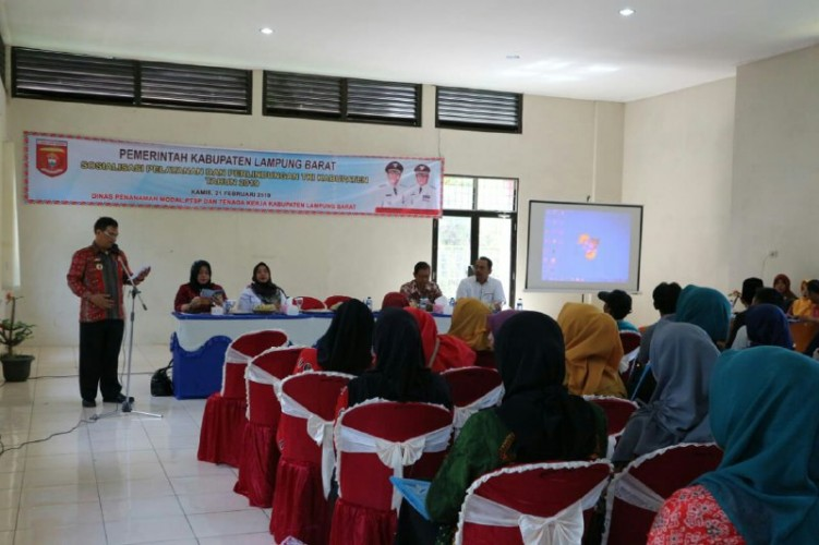 Pemkab Lampung BaratGelar Sosialisasi Perlindungan TKI