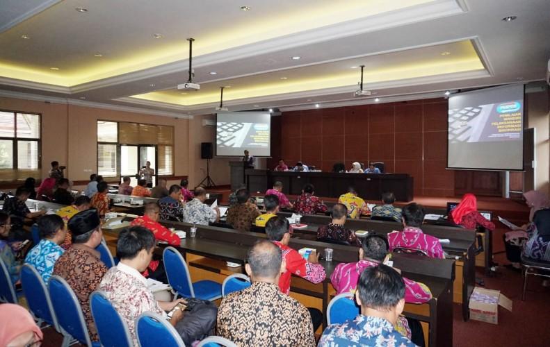 Pemkab Lampung Selatan Gelar Sosialisasi Reformasi Birokrasi