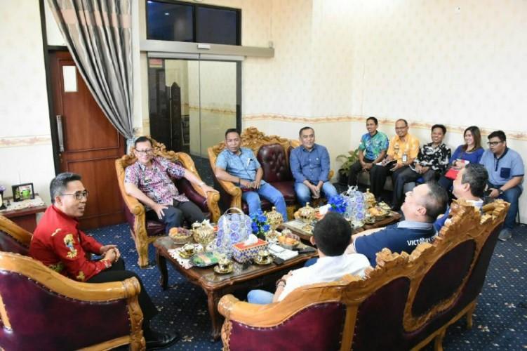 Pemkab Lampung Timur Terima Kunjungan Pengurus Besar Ikatan Sport Sepeda Indonesia