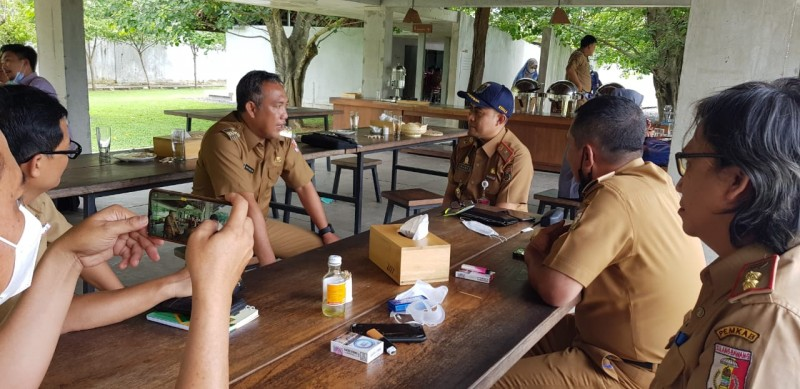 Pemkab Lamteng Pelajari Konsep Wisata Tubaba