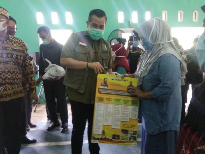 Pemkab Pesawaran Kembali Salurkan Bansos ke 4 Kecamatan