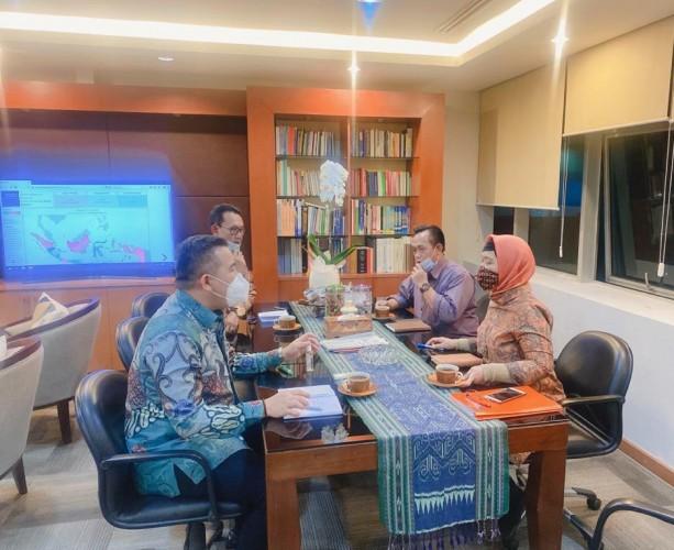 Pemkab Pesawaran Minta Bantuan Kemendag Bangun Pasar Maritim
