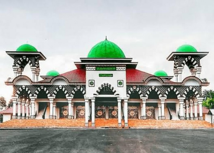 Pemkab Tanggamus Bantah Isu Alih Fungsi Masjid Islamic Center Kotaagung