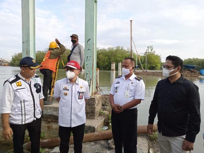 Pemkab Tuba Gelontorkan Rp1 M Lebih untuk Renovasi Jembatan Sungai Burung