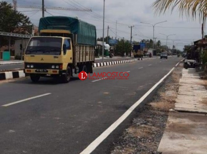 Pemkab Tubaba Gelontorkan Rp23,5 Miliar Bangun Jalan Dua Jalur