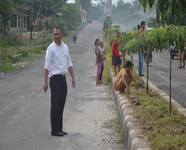 Pemkab Tubaba segera Selesaikan Pembebasan Lahan Pelebaran Jalan