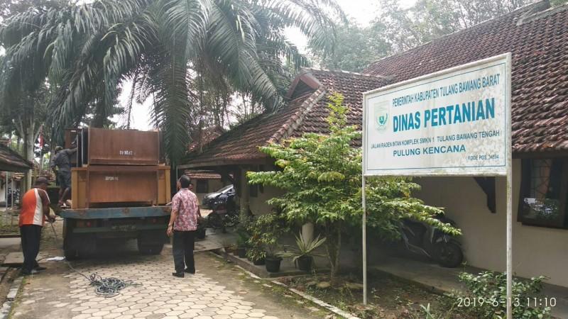 Pemkab Tulangbawang BaratPindahkan Sejumlah Kantor Dinas