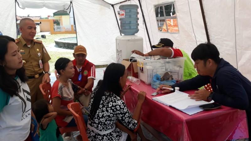 Pemkab Tulangbawang Siapkan Posko Kesehatan untuk Korban Banjir