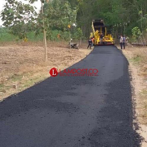 Pemkab Usulkan Pembangunan 7 Titik Jalan Provinsi di Lamsel