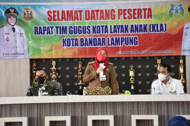 Pemkot Bandar Lampung Berikan Pendampingan Hukum untuk Anak dan Perempuan