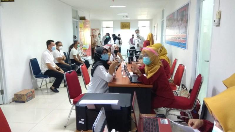 Pemkot Bandar Lampung Gelar Vaksinasi Tahap Kedua