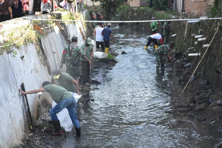 Pemkot Bandar Lampung Kebut Normalisasi Sungai