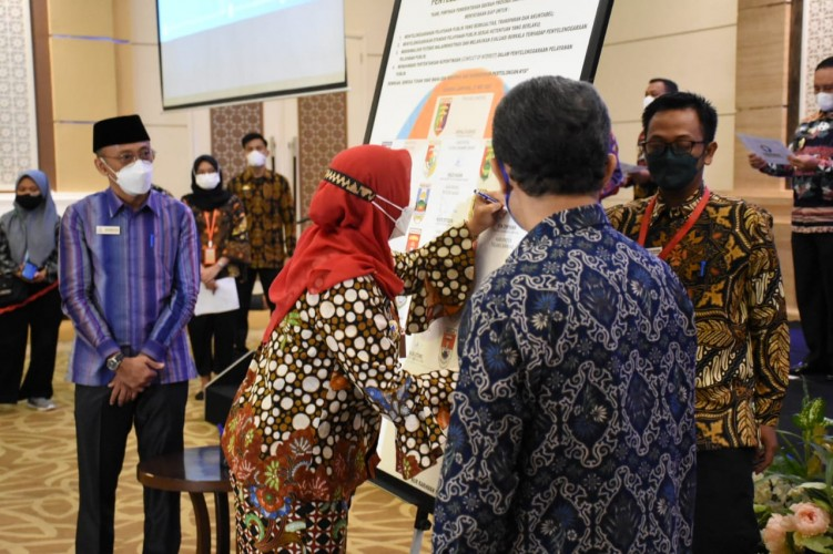 Pemkot Bandar Lampung Komitmen Tingkatkan Pelayanan Publik untuk Masyarakat