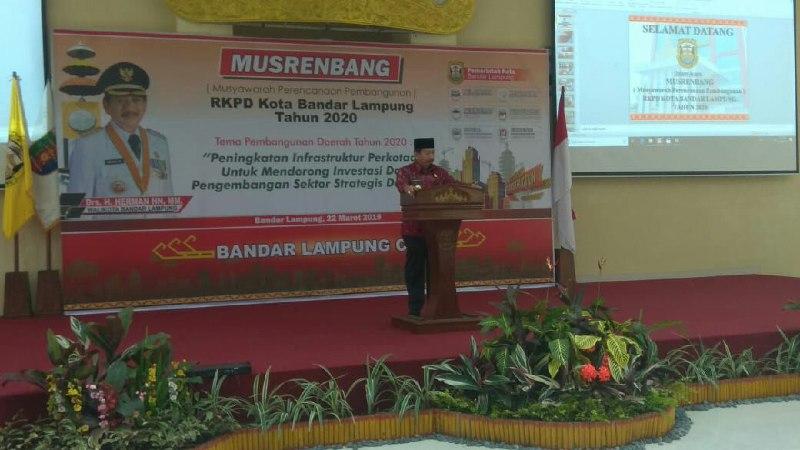 Pemkot Bandar LampungLaksanakan Musrenbang