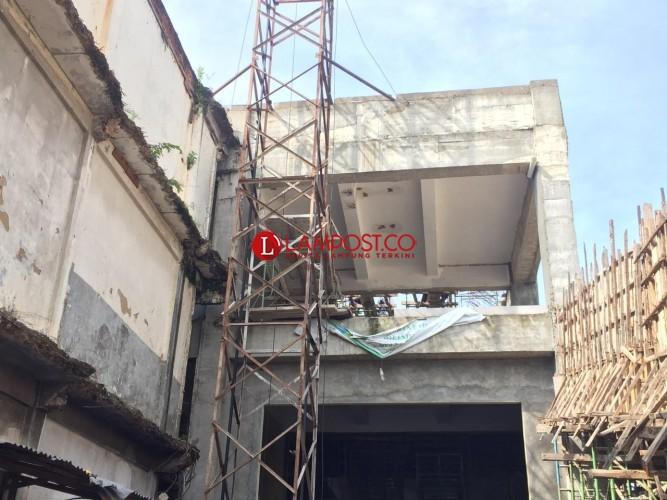 Pemkot Bandar Lampung Mengeklaim Sudah Cairkan Anggaran Lanjutan Proyek Pasar SMEP