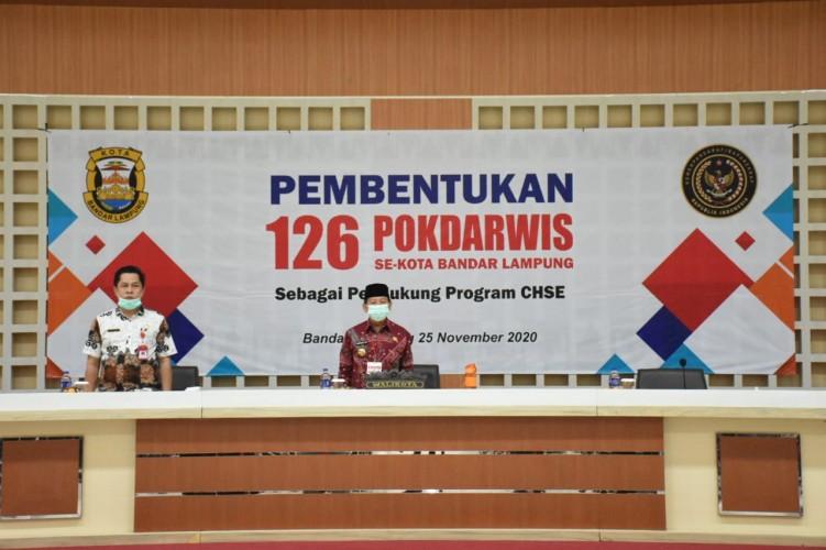 Pemkot Bandar Lampung Optimalkan Potensi Wisata Sampai Tingkat Kelurahan
