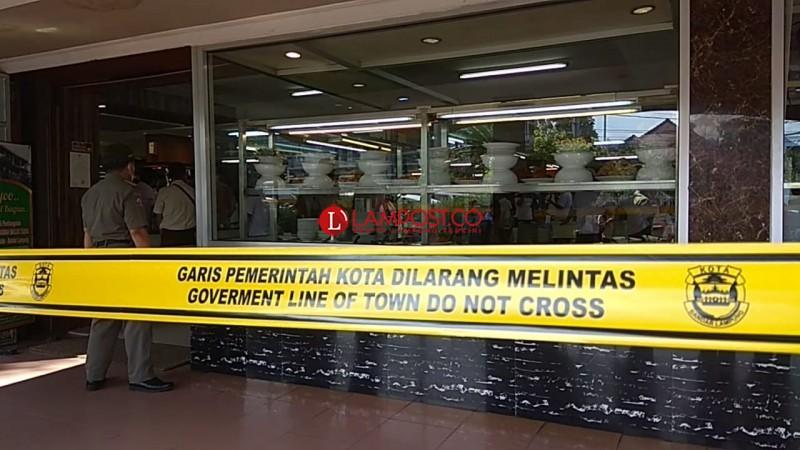 Pemkot Bandar Lampung Segel 4 Tempat Usaha
