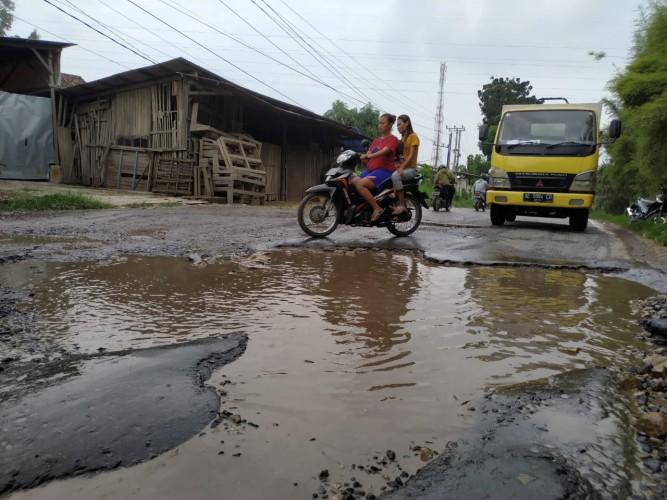 Pemkot Bandar Lampung Siapkan Rp60 Miliar untuk Perbaikan Jalan