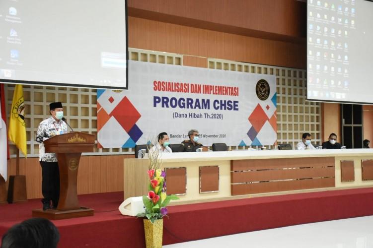 Pemkot Bandar Lampung Sosialisasi Bantuan Dana Hibah bagi Perusahaan