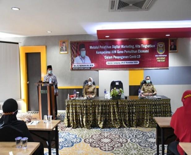 Pemkot Bandar Lampung Terus Mendorong Kebangkitan IKM