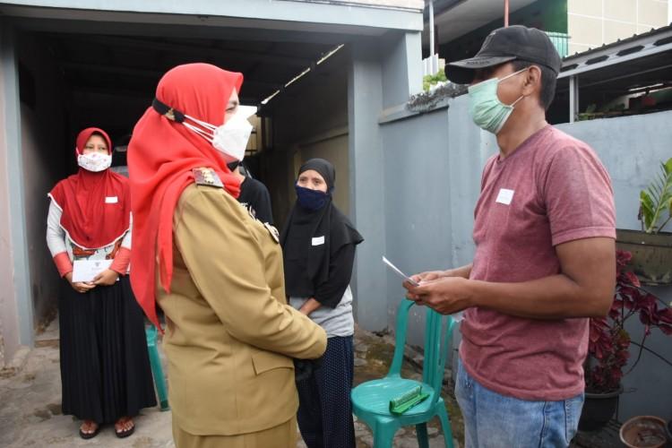 Pemkot Beri Bantuan 10 Keluarga Korban Puting Beliung di Panjang