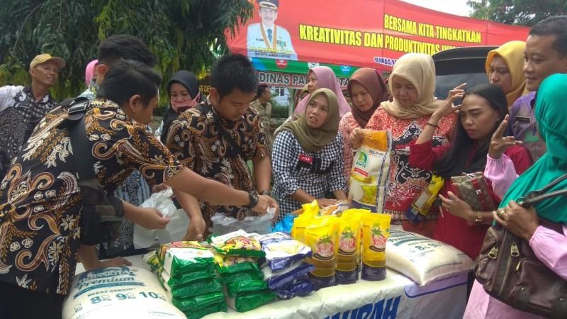 Pemkot Gelar Pasar Murah Menekan Harga Gula pasir