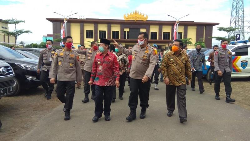 Pemkot Hibahkan Tiga Bangunan Untuk Polda Lampung