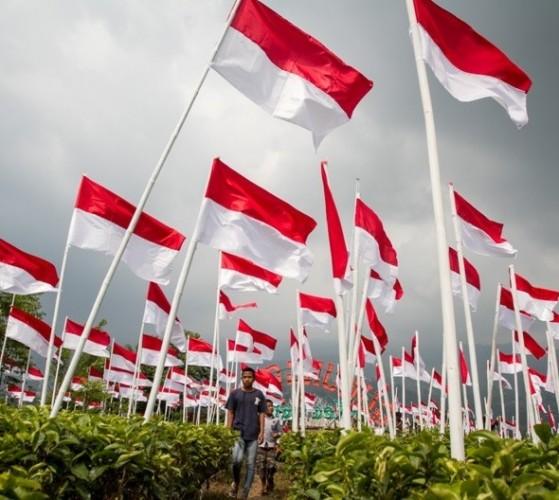 Pemkot Imbau Warga Bandar Lampung Pasang Bendera Merah Putih Sepanjang Tahun