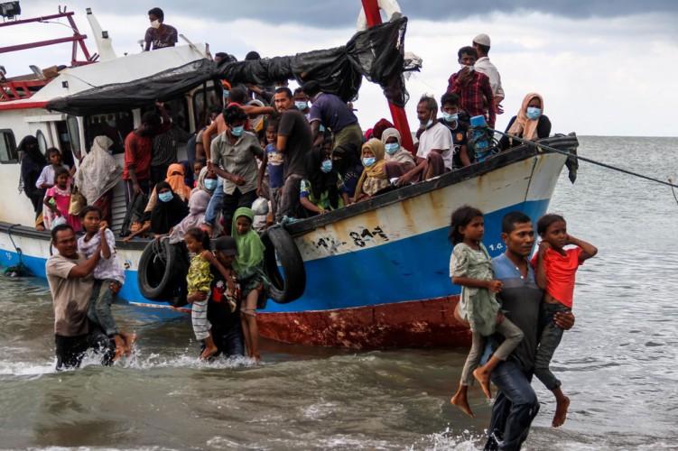 Pemkot Lhokseumawe Relokasi 99 Pengungsi Rohingya ke BLK