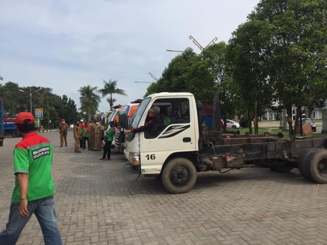 Pemkot Perbaiki Bak Sampah Rongsok