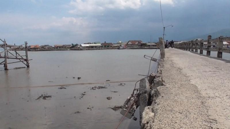 Pemkot Perbaiki Total Jembatan Pulau Pasaran Tahun Depan
