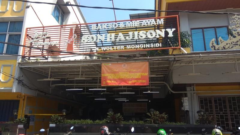 Seluruh Cabang Bakso Sony Bandar Lampung Diancam Ditutup Paksa