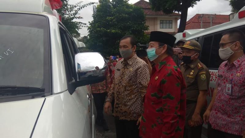 Pemkot Tambah 12 Unit Ambulan dari DAK